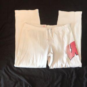 PINK Victoria's Secret PJ Pants - Wisc Badgers